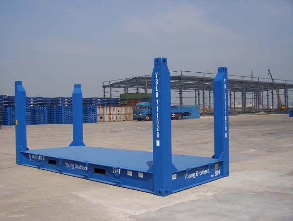 kích thước container flat rack