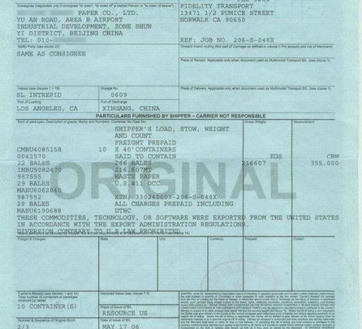 Phân biệt ORIGINAL BILL - SURRENDER BILL - TELEX RELEASE