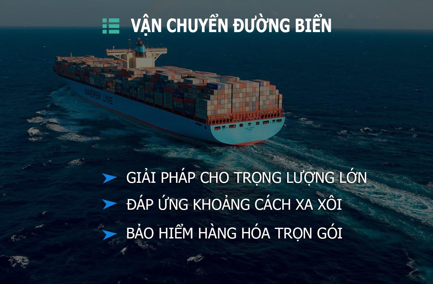 Vận chuyển container đường biển