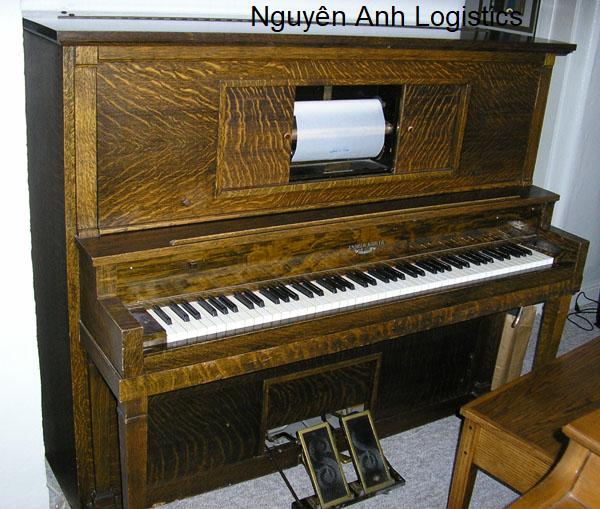 Nhập khẩu đàn piani cũ