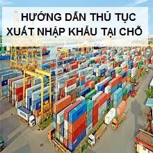 xuất khẩu tại chỗ
