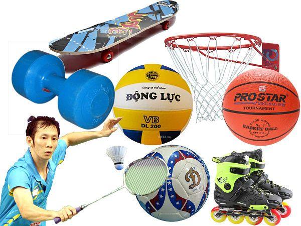 nhập khẩu dụng cụ thể thao