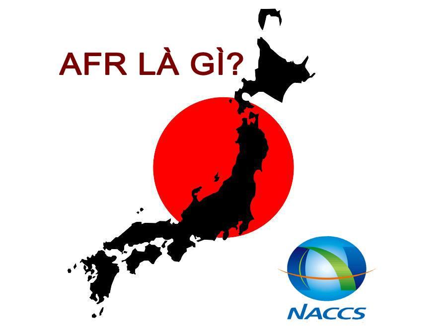 【AFR 】Khai báo chuẩn Hải quan Nhật Bản