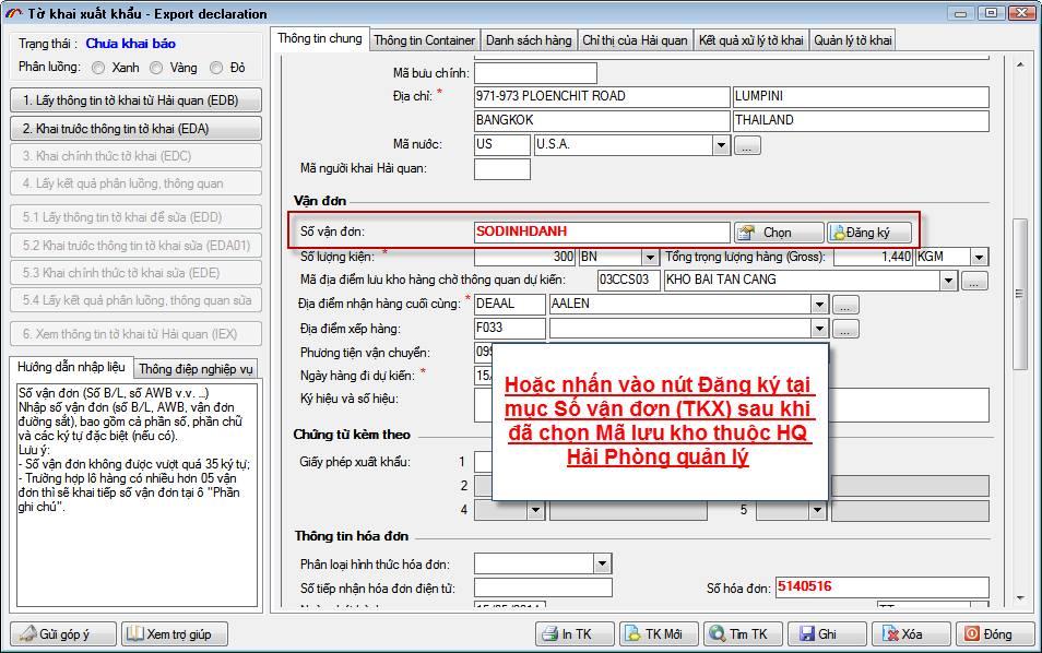 mã định danh hàng hóa xuất nhập khẩu