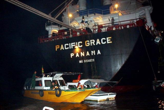 tàu pacific grace