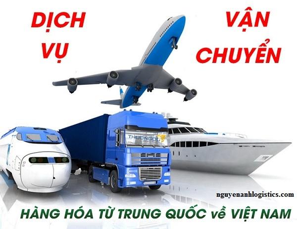 dịch vụ vận chuyển hàng Tq về Việt Nam