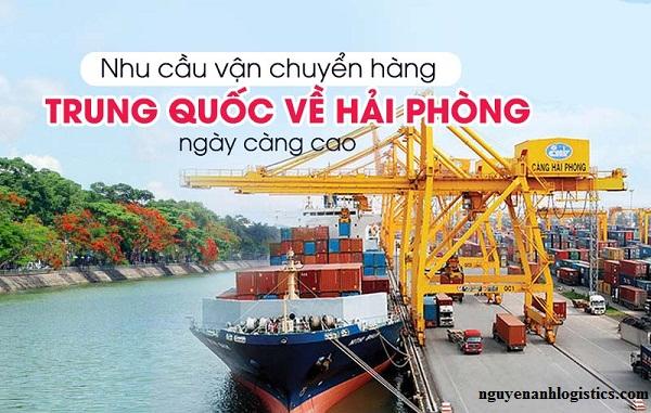 vận chuyển hàng Trung Quốc tại Hải Phòng.