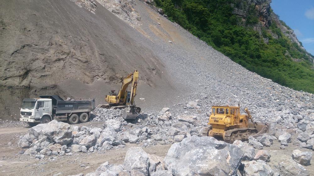 Thông tư Xuất khẩu đá vôi làm VLXD