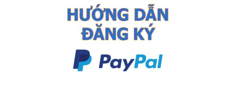 đăng kí tài khoản paypal