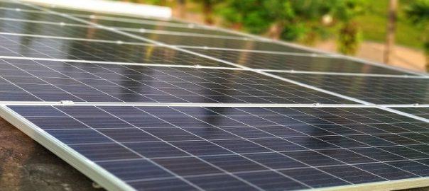Thủ tục nhập khẩu tấm pin năng lượng mặt trời