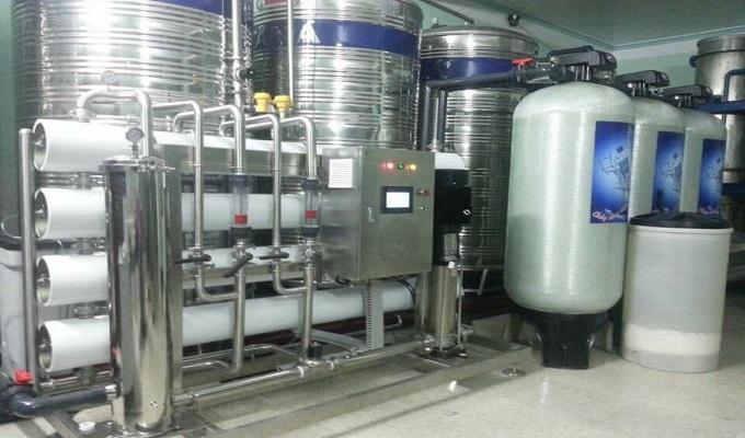 nhập khẩu máy sản xuất nước khử trùng
